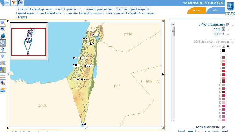 מערכת מידע גאוגרפי GIS